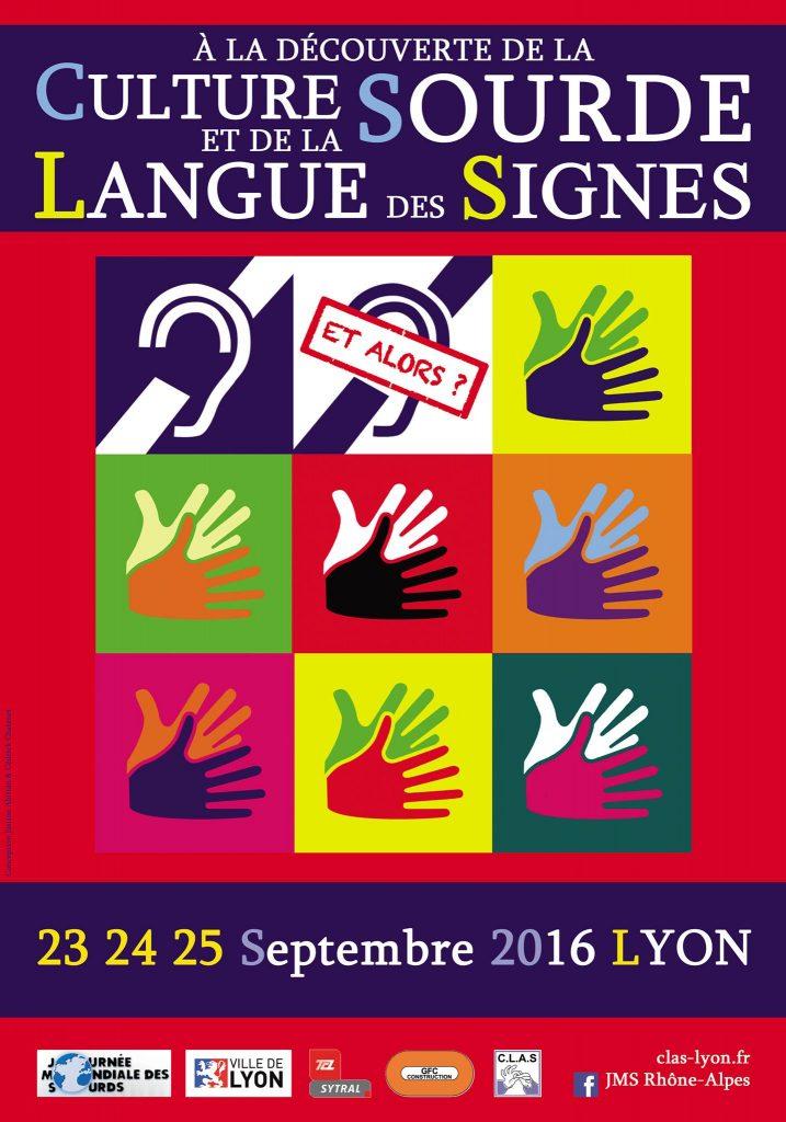 Affiche de la JMS 2016 Lyon